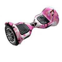 Гироборд Smart Balance 10 Розовый камуфляж