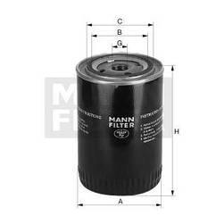 Фильтр масляный DAF 75CF MANN-FILTER W13110