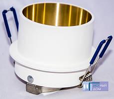 Встраиваемый светильник Feron DL6005 белый золото