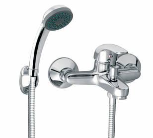 FERRO Vasto Cмеситель для ванны, однорычажный, с лейкой и шлангом, хром