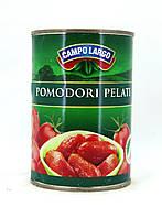 Томати цілі очищені Campo Largo Pomodori pelati, 400g