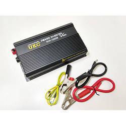 Профессиональный преобразователь инвертор UKC 12V-220V RCP 1000W