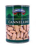 Фасоль консервированная Campo Largo Cannellini 400г