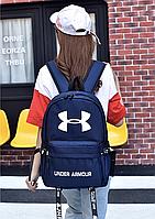 Рюкзак городской спортивный портфель сумка Under Armour Андер Армор большой значок реплика