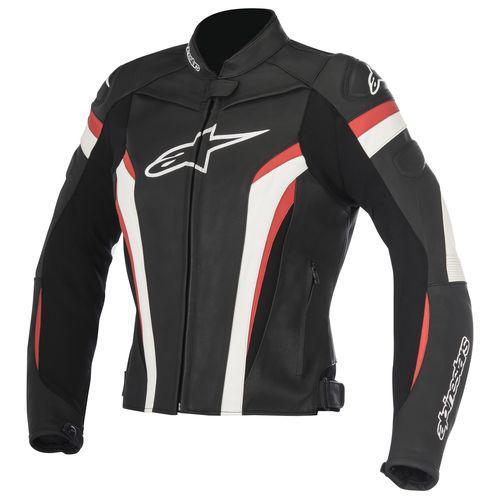 "Куртка Alpinestars женская STELLA GP PLUS R V.2 AIRFLOW ""38"" black/white/red кожа"