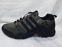 Мужские кроссовки Adidas Terrex Swift Gore-tex хаки