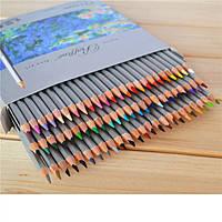 Олівці кольорові Yalong 24шт. срібна упаковка ps. 2.6400