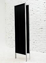 Ширма косметологическая черная 150х180см, фото 2