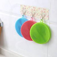 Губка силиконовая для мытья посуды