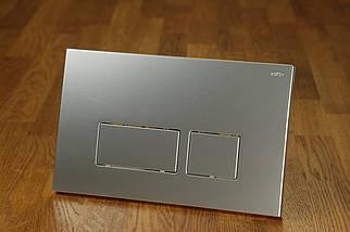 Клавиша смыва хром сатин 0040 chrome satin