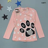 """Кофта """"Котик"""" для дівчинки. 2 роки, фото 1"""