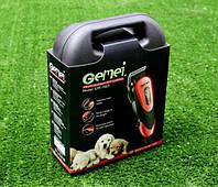 Профессиональная машинка для стрижки животных вычесывания Gemei GM-1023