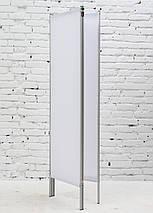 Ширма косметологическая белая 150х180см, фото 2