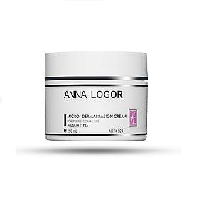 Крем-скраб очищуючий Anna LOGOR Micro-dermabrasion Cream 250 ml Art.924