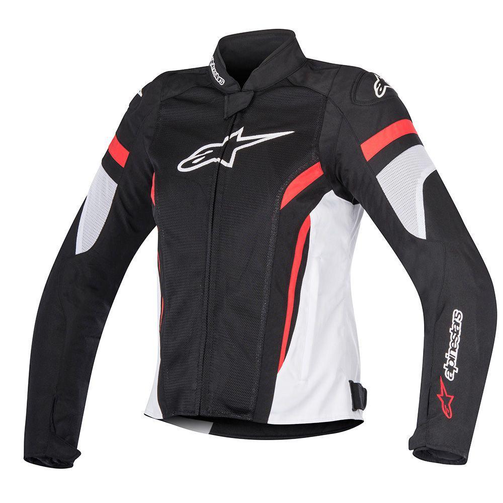 "Куртка Alpinestars женская STELLA T-GP PLUS R V2 AIR ""XS"" black/white/red текстиль"