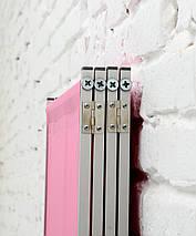 Ширма косметологическая розовая 200х180см, фото 3