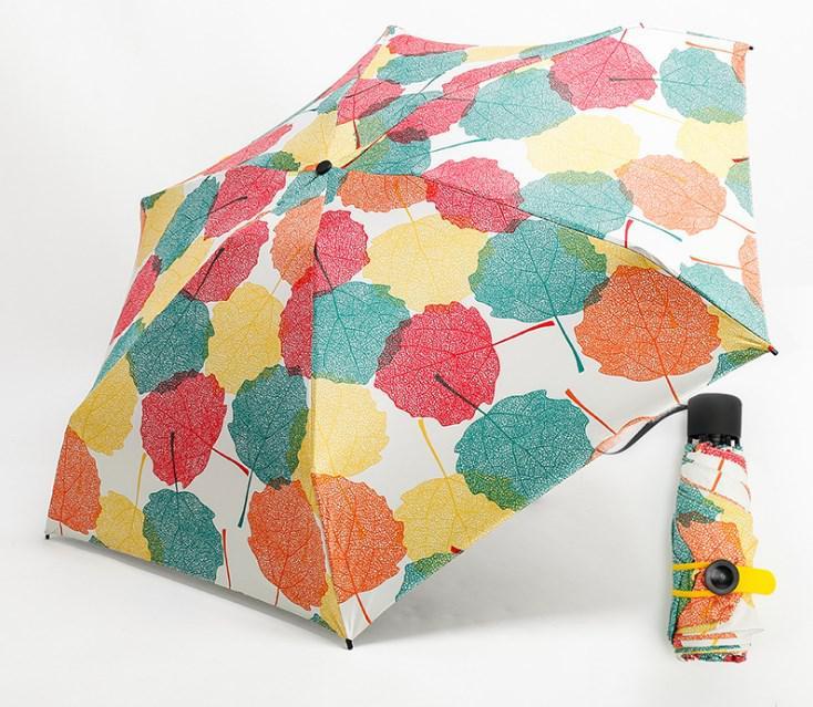 Мини зонт листья