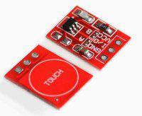 Модуль датчика прикосновения TTP223 (сенсорная кнопка)