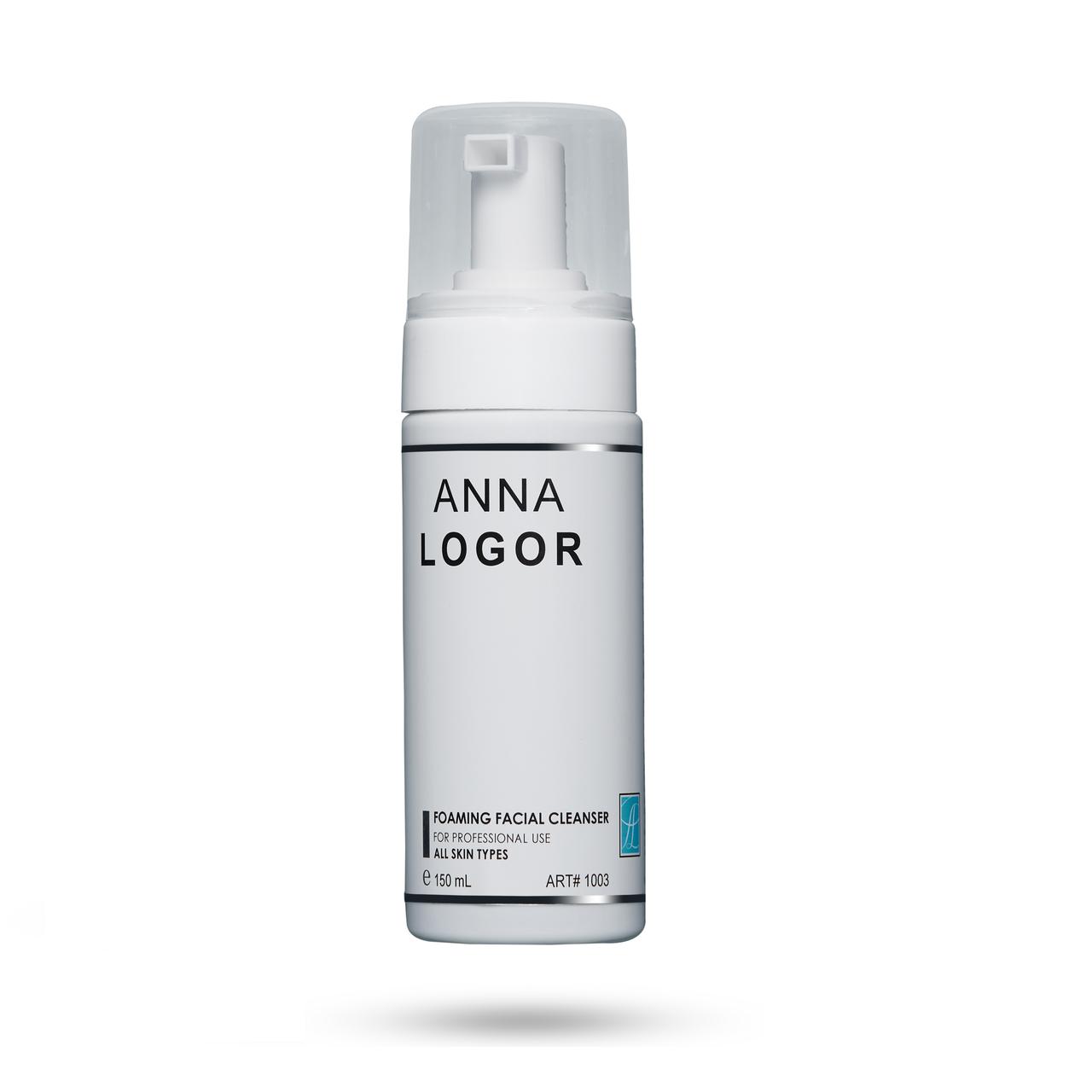 Очиститель лица пенный Anna LOGOR Foaming Facial Cleanser 150 ml Art.1003