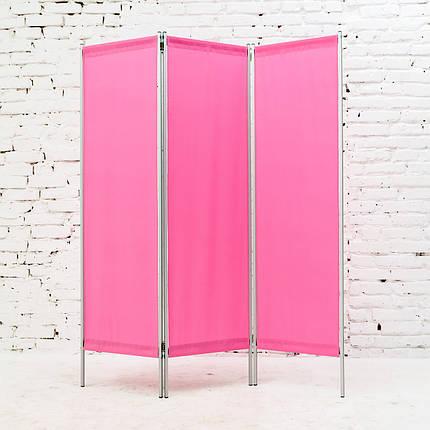 Ширма косметологическая розовая 150х180см, фото 2