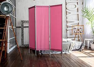 Ширма косметологическая розовая 150х180см, фото 3