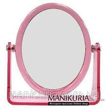 Зеркало настольное двойное овальное №646