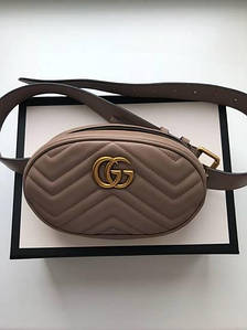 Сумочка Gucci Marmont беж, эко-кожа