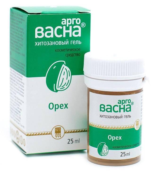 АргоВасна Орех, 25 мл - при раздражении и аллергических реакциях на коже и слизистых оболочках