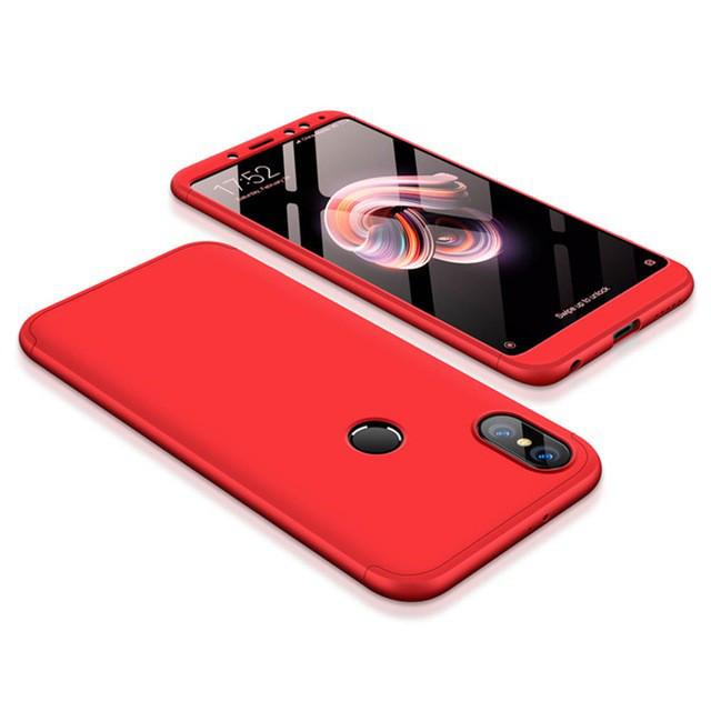 Пластиковый чехол LikGus 360 градусов для Xiaomi Redmi Note 5 Pro