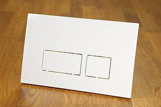 Клавиша смыва white 0042 белая