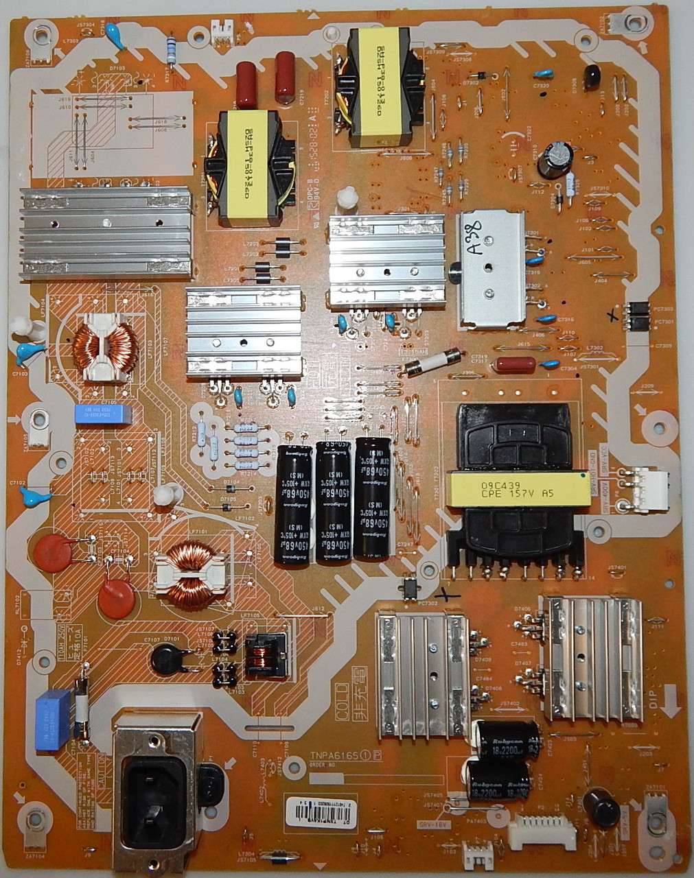 Блок питания TNPA6165 для телевизора PANASONIC TX-55CRW854