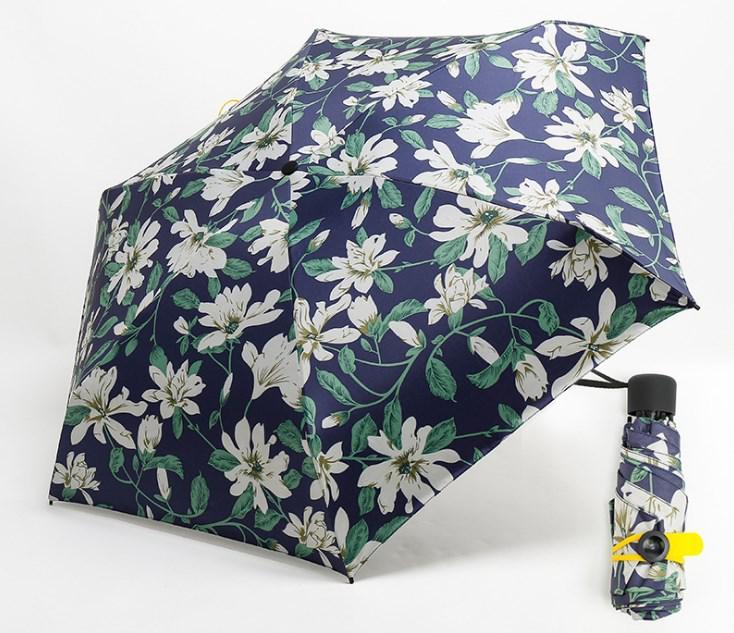 Зонт маленький женский ромашки