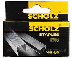 """Дужки №24/6 """"Scholz"""" 4721 (1000шт)"""