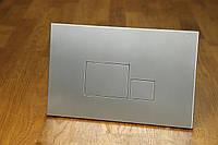 Кнопка смыва инсталляции 0060 chrome satin (хром сатин)