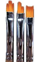 Набор для росписи ногтей 3 шт(ласточкин хвост, ступенька, рваный лепесток) Kolinsky