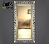 Зеркало настенное Bogota в серебрянной раме, фото 2