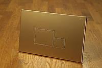 Смывная клавиша 0063 gold (золотая)