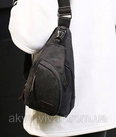 a14e0ddcf71e Мужской тканевый рюкзак на одно плечо. Разные цвета - Интернет-магазин