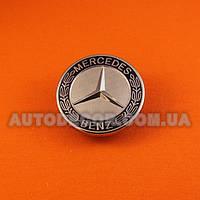"""Эмблема Mercedes 57 мм на капот """"на защелке"""""""