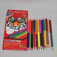 Олівці кольорові ''DING LAO SHI'' 12 шт. ps0.636