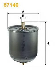 Фильтр масляный (центробежный) DAF WIX 57140