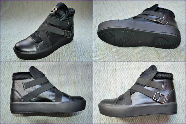 Демисезонные ботинки  для девочки Masheros 3616  фото