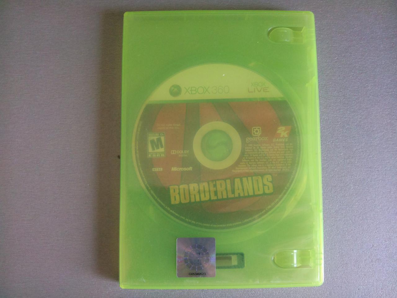 Игра xbox 360 Borderlands регион NTSC