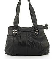Удобная надежная стильная прочная женская сумка KENGURU art. 042 черная