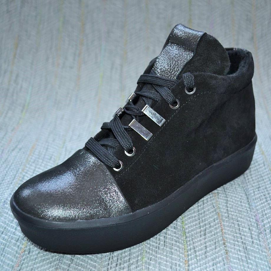 Женские ботинки на шнурках, Masheros размер 40