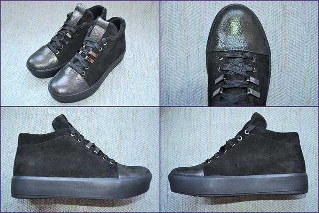 Демисезонные ботинки на шнурках для девочки Masheros 3639 фото