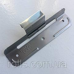 Кляммер подвижный длинный для крепления фальцевых картин h=25mm PREFA ORIGINAL (Germany), нерж. сталь