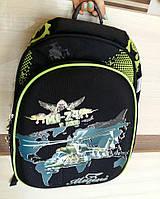 Рюкзак зелёный для школьника