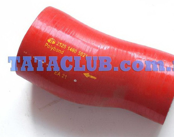 Патубок интеркуллера /адаптор 75мм-60мм/ Е4 TATA MOTORS