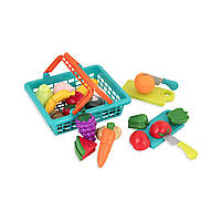 Игровой набор Battat для двоих - Овощи-фрукты на липучках (BT2534Z)